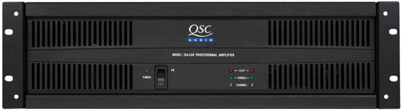 QSC ISA450 2 Channel 260W Power Amp - PSSL ProSound and Stage Lighting