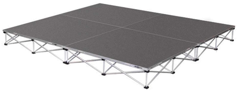 IntelliStage 6 x 6 Drum Riser 16-In High Carpet - PSSL ProSound and Stage Lighting