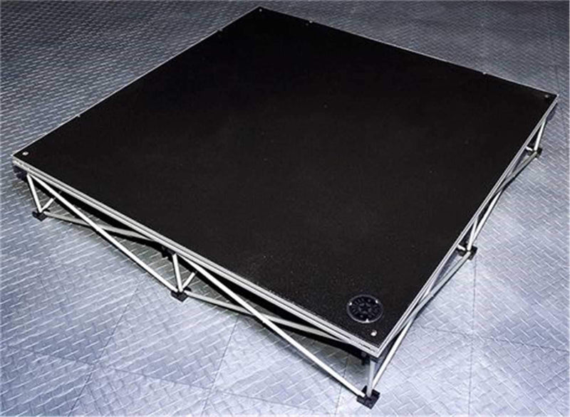 IntelliStage ISP4X4ID 4 Ft x 4 Ft Industrial Stage Platform (2-Pack) - PSSL ProSound and Stage Lighting