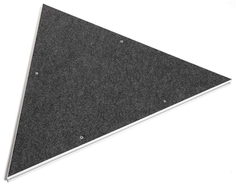 IntelliStage ISTPC3 Carpeted Triangle Stage Platform - PSSL ProSound and Stage Lighting