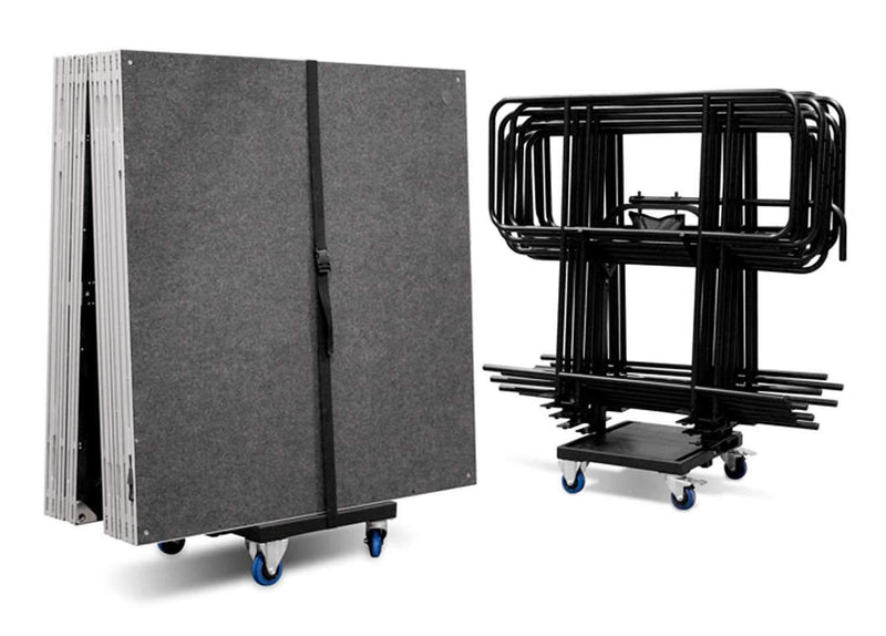 IntelliStage ISTROLLEY Multi-purpose Trolley for Guard Rails & Platforms - PSSL ProSound and Stage Lighting