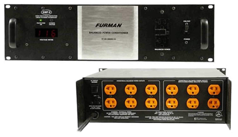 Furman IT20II 20Amp Balanced Power Conditioner - PSSL ProSound and Stage Lighting