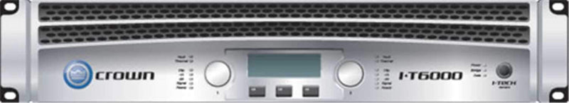 Crown IT6000 Power Amplifier 1500W @ 8 Ohms - PSSL ProSound and Stage Lighting