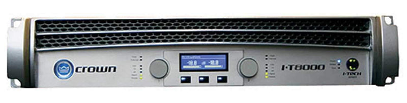 Crown IT8000 Power Amplifier 2100W @ 8 Ohms - PSSL ProSound and Stage Lighting