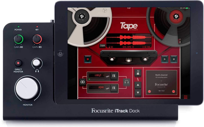 Focusrite iTrack Dock iPad Recording Interface - PSSL ProSound and Stage Lighting