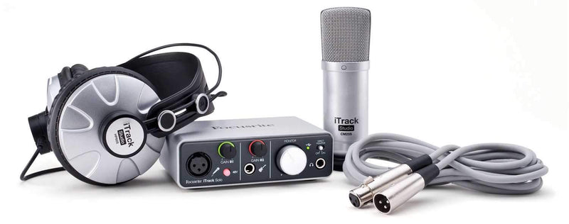 Focusrite iTrack Studio Recording Pack - Lightning - PSSL ProSound and Stage Lighting