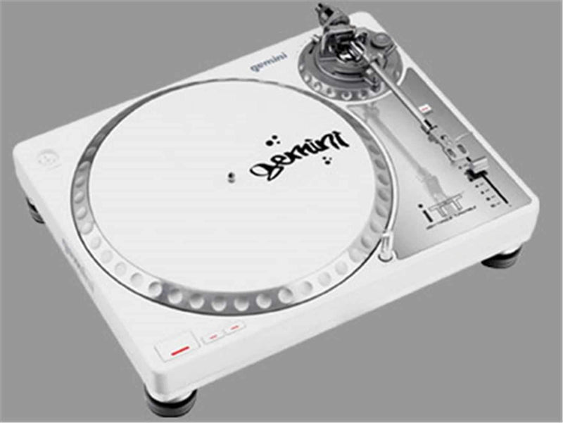 Gemini ITT Direct Drive Turntable White - PSSL ProSound and Stage Lighting