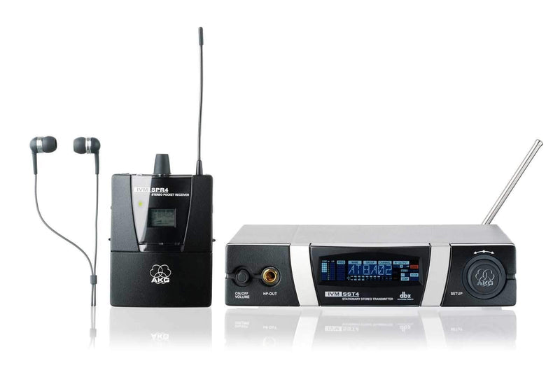 AKG IVM4 In Ear Monitoring System with IP2 Earphones - PSSL ProSound and Stage Lighting