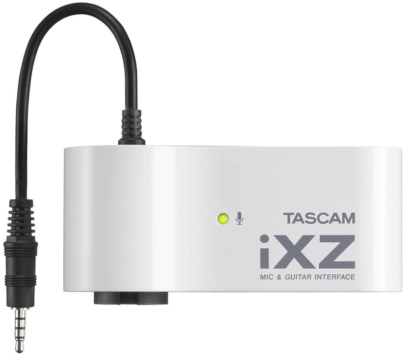 Tascam IXZ iPhone/iPad/iPod Mic Instrument Input - PSSL ProSound and Stage Lighting