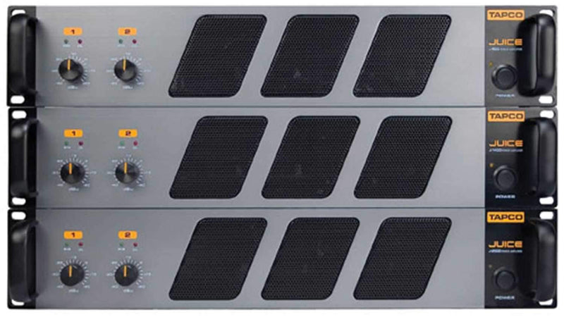 Tapco J2500 Power Amp 575W @ 8 Ohms - PSSL ProSound and Stage Lighting