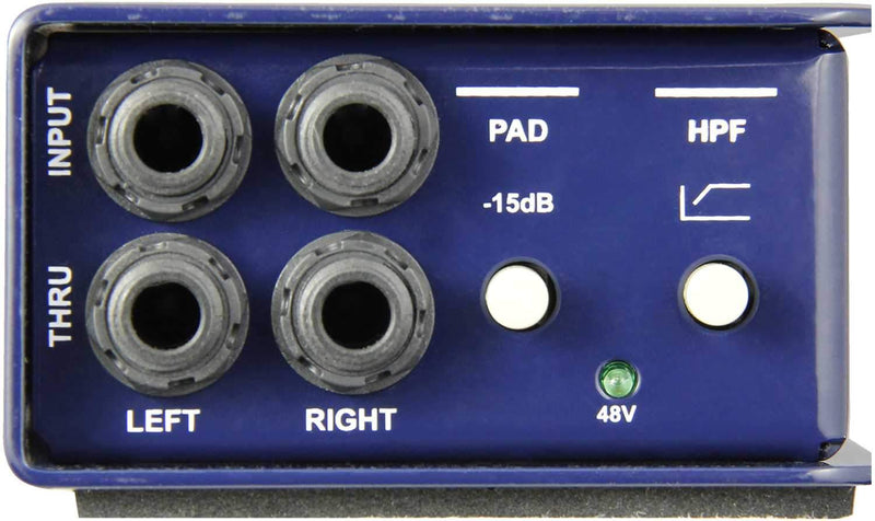 Radial J48 Stereo Active DI Box - PSSL ProSound and Stage Lighting