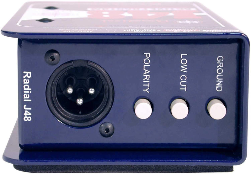 Radial J48 Active 48-Volt Phantom Powered DI Box - PSSL ProSound and Stage Lighting