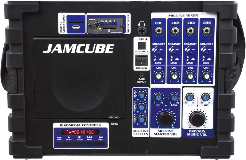 VocoPro Jamcube 100w Stereo Karaoke System - PSSL ProSound and Stage Lighting