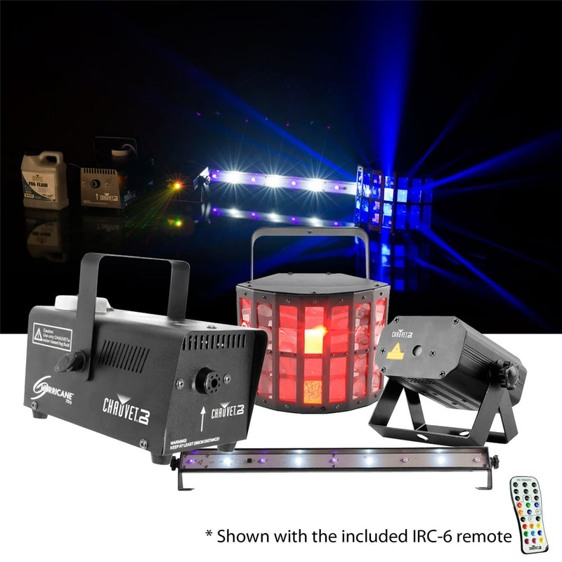 Chauvet JAM Pack Gold 4-Piece Effect Light Bundle - PSSL ProSound and Stage Lighting