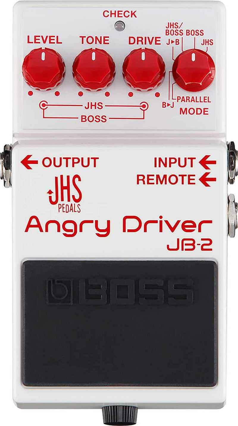Boss JB-2 Angry Driver Overdrive Pedal - PSSL ProSound and Stage Lighting