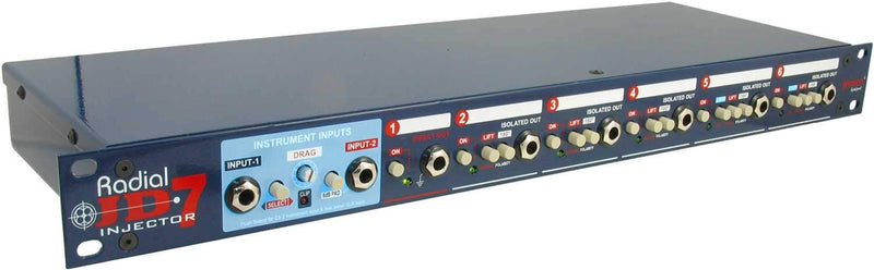 Radial JD7 Guitar Signal Splitter & Distro - PSSL ProSound and Stage Lighting