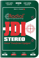 Radial JDI Stereo 2-Channel Passive Direct Box - PSSL ProSound and Stage Lighting