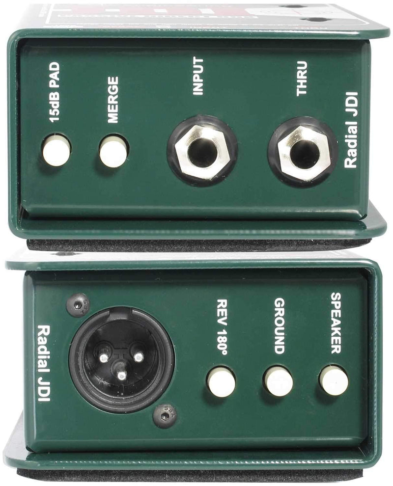 Radial JDI 1-Channel Passive Instrument DI Box - PSSL ProSound and Stage Lighting
