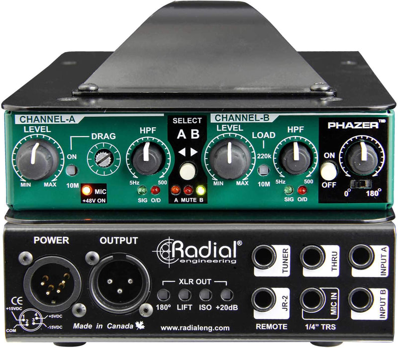 Radial JDV MKV Class-A DI with 2 Inputs - PSSL ProSound and Stage Lighting
