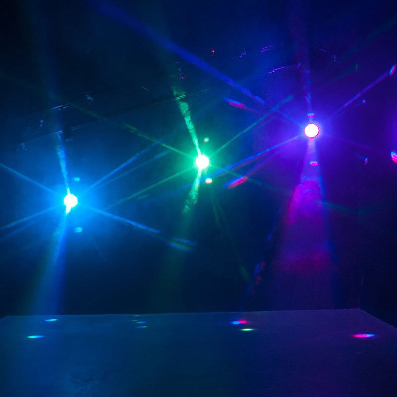 ADJ American DJ Jelly Globe 2x3-Watt Mirror Ball Effect - PSSL ProSound and Stage Lighting