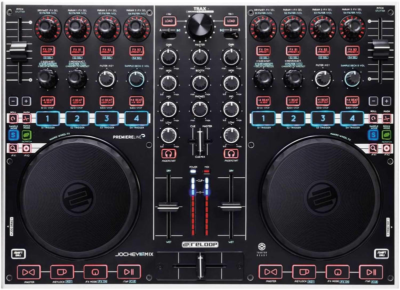 Reloop Jockey 3 Remix Pro DJ Controller - PSSL ProSound and Stage Lighting