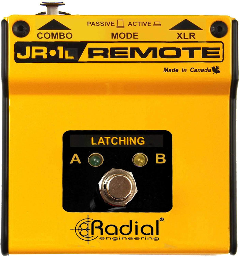 Radial JR1-L Latching Footswitch - PSSL ProSound and Stage Lighting