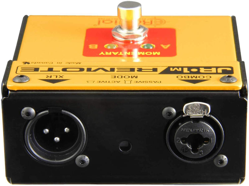 Radial JR1-M Momentary Footswitch - PSSL ProSound and Stage Lighting