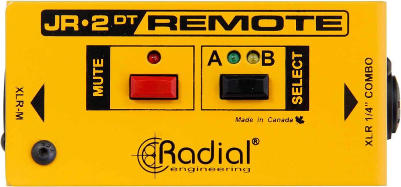 Radial JR2-DT Remote Control Dual Function - PSSL ProSound and Stage Lighting