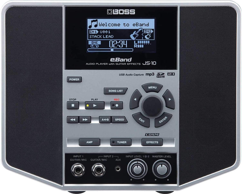 Boss JS-10 eBand Audio Player & Trainer for guitar - PSSL ProSound and Stage Lighting
