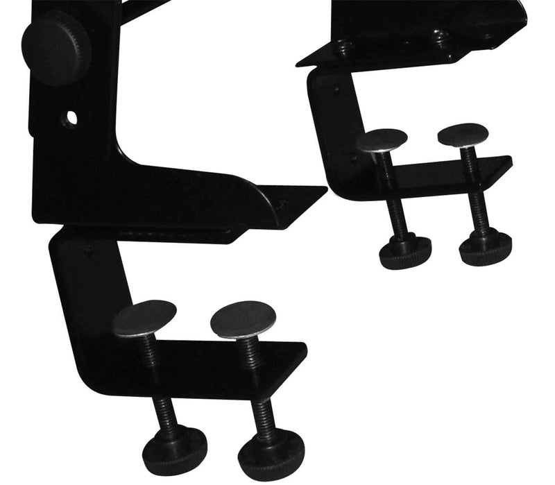 Jamstand JSLPT100 DJ Laptop Stand with Clamps - PSSL ProSound and Stage Lighting