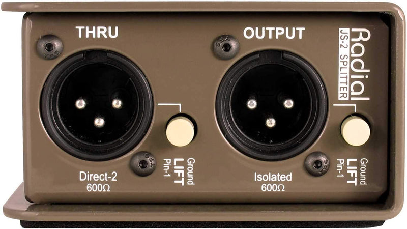 Radial JS2 Passive Mic Splitter - PSSL ProSound and Stage Lighting