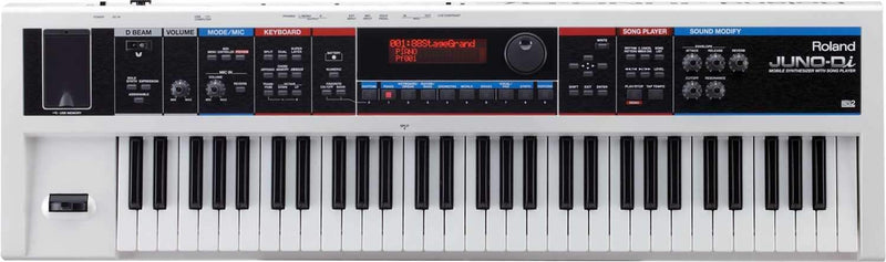 Roland Juno DI 61-Key Mobile Synthesizer White - PSSL ProSound and Stage Lighting