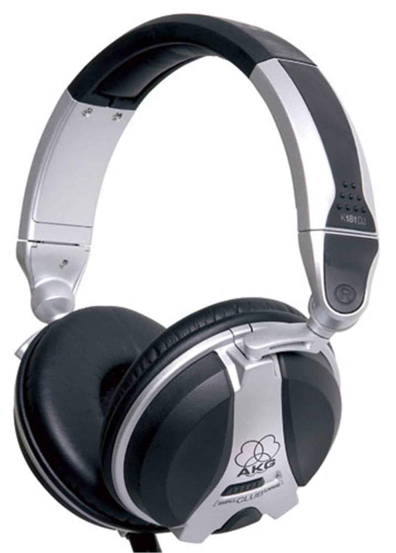 AKG K181DJ High Performance Closed-Back DJ Headphones - PSSL ProSound and Stage Lighting