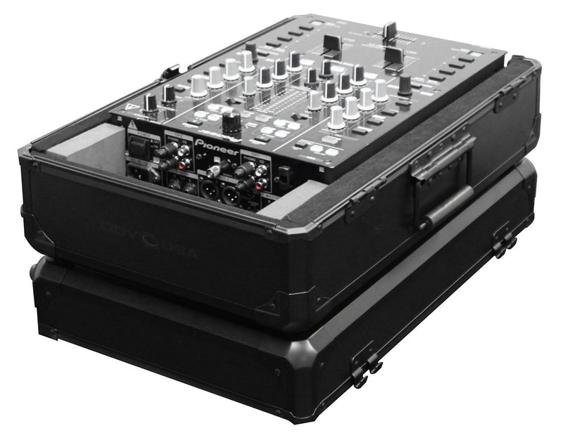 Odyssey K10MIXBL Black Universal 10In Mixer Case - PSSL ProSound and Stage Lighting