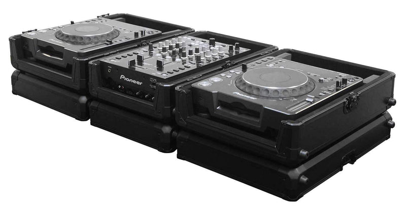 Odyssey K12MIXCDJBL Black Krom Case for 12-Inch DJ Mixer or CD Player - PSSL ProSound and Stage Lighting