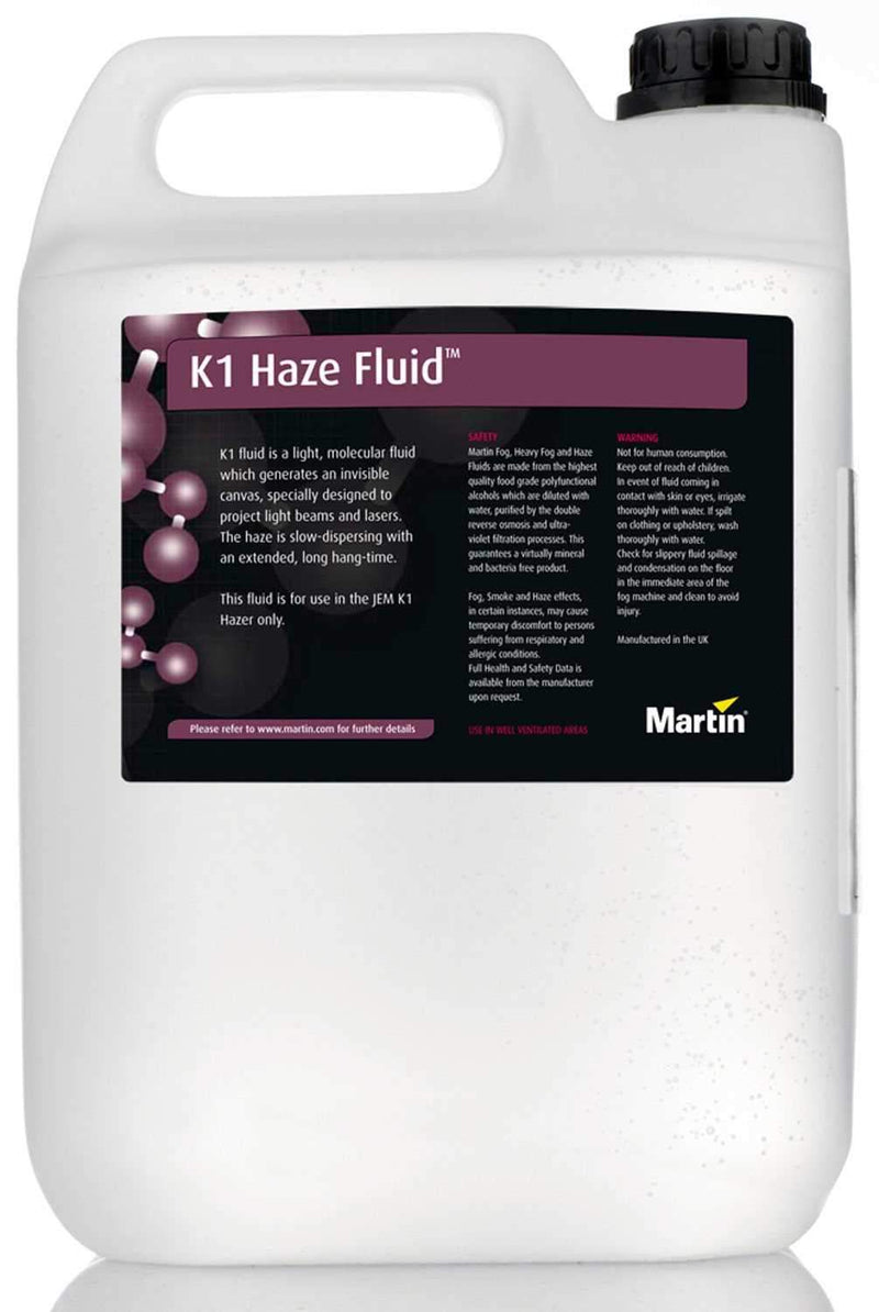 Martin K1 Haze Juice 2.5 Gallon For K1 Haze Only - PSSL ProSound and Stage Lighting