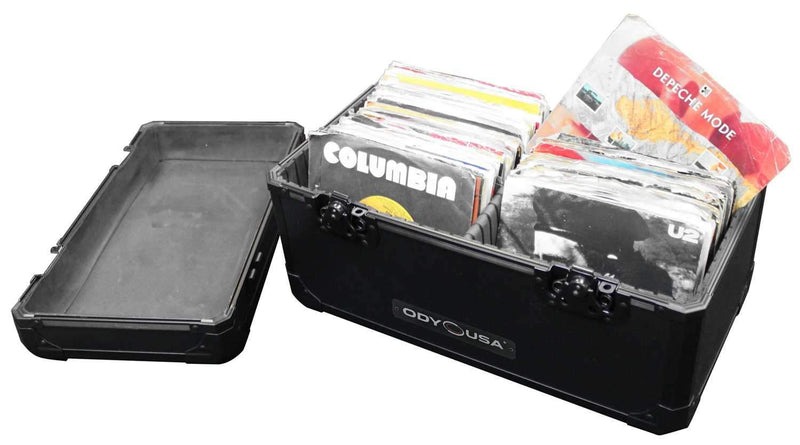 Odyssey K45120BL 7-Inch & 45 Vinyl Record Case - PSSL ProSound and Stage Lighting