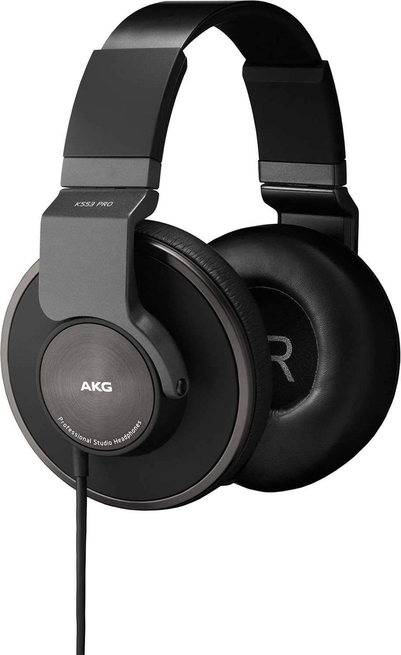 AKG K553 PRO Closed Back Studio Headphones - PSSL ProSound and Stage Lighting
