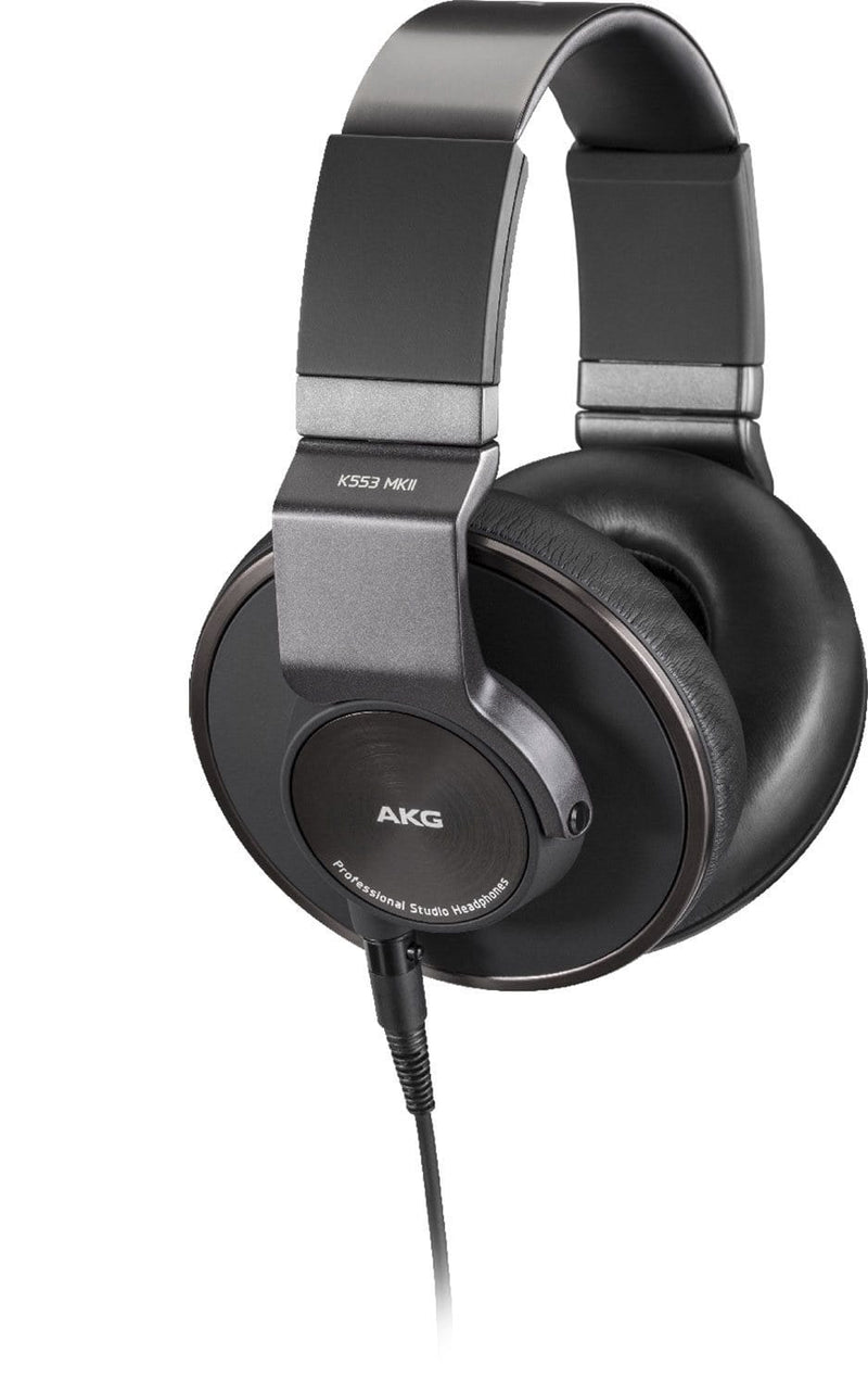 AKG K553 MKII Closed Back Studio Headphones - PSSL ProSound and Stage Lighting