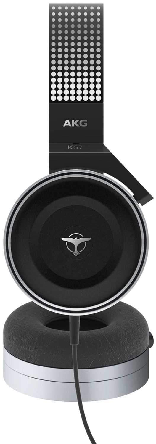 AKG K67 Tiesto Professional DJ Headphones - PSSL ProSound and Stage Lighting