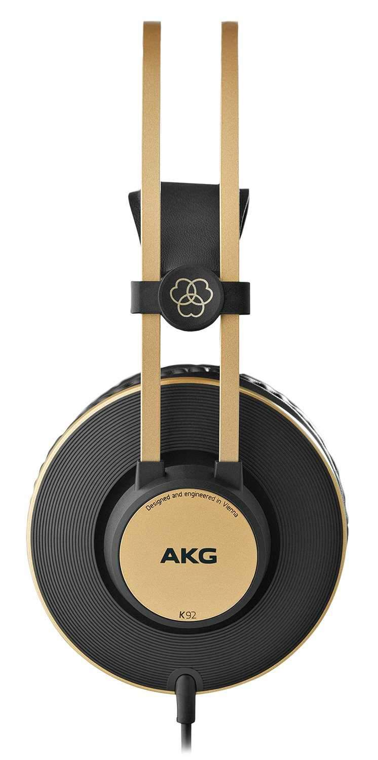 AKG K92 Closed-Back Studio Headphones - PSSL ProSound and Stage Lighting