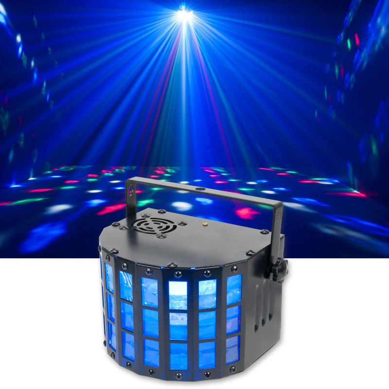 Eliminator Katana LED Derby 4x3W RGBW Effect Light - PSSL ProSound and Stage Lighting