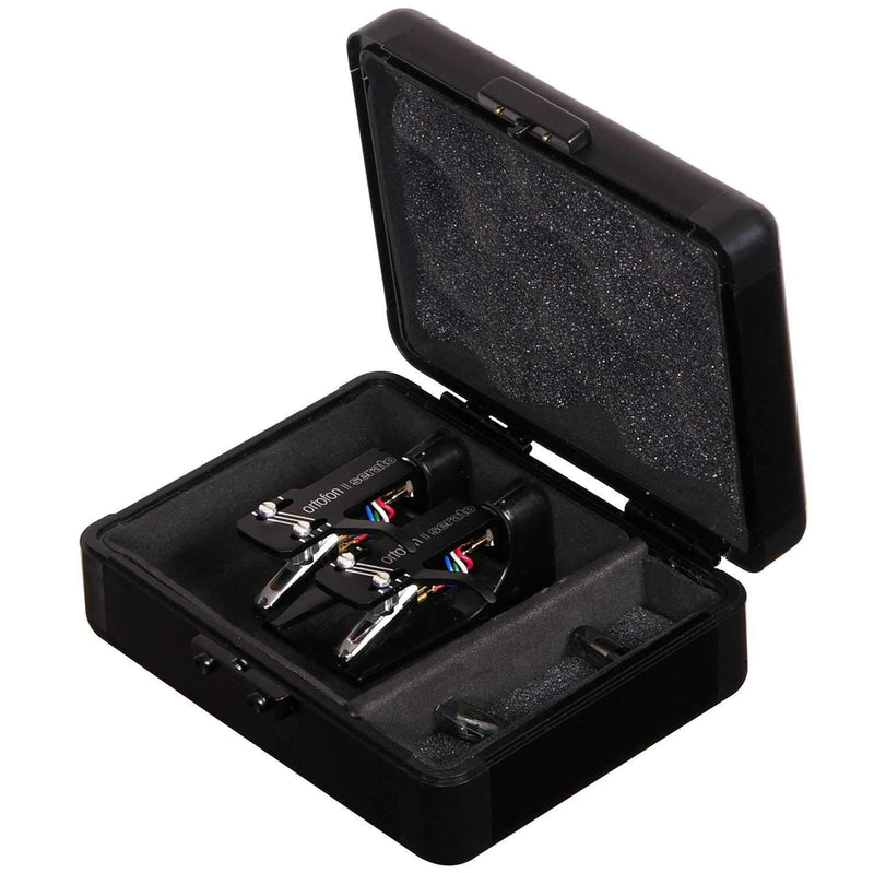 Odyssey Club DJ Cartridge Case For (2) Cartridges - PSSL ProSound and Stage Lighting