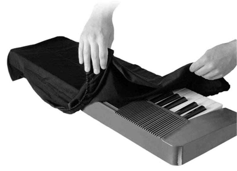 On-Stage KDA7061B 61 Key Keyboard Dust Cover - PSSL ProSound and Stage Lighting