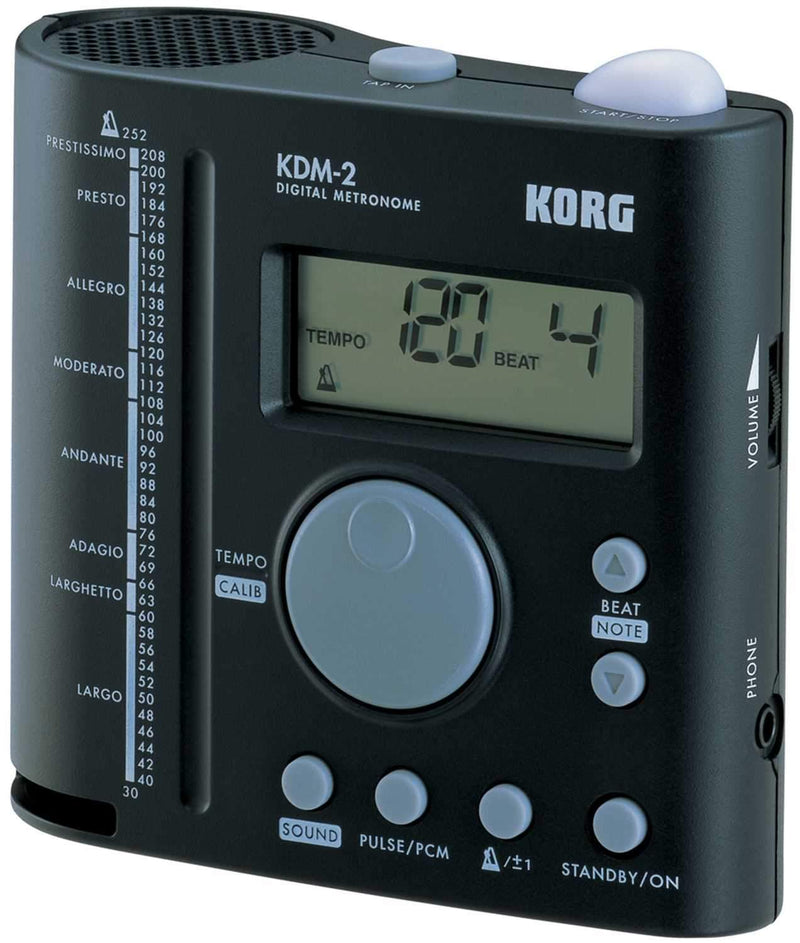 Korg KDM2 Band & Orchestra Metronome with PCM Sounds - PSSL ProSound and Stage Lighting