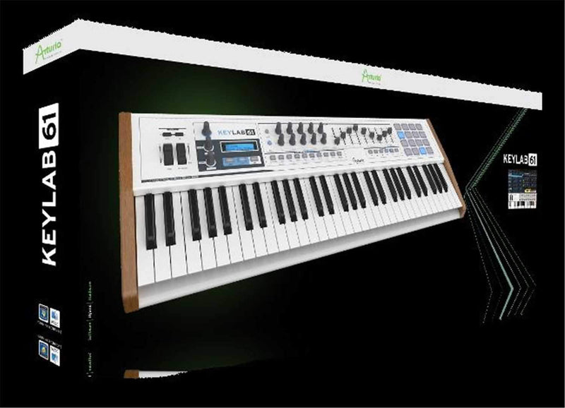 Arturia Keylab 61 61-key Compact Hybrid Synth - PSSL ProSound and Stage Lighting