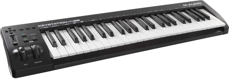 M-Audio Keystation 49 MKIII Keyboard Controller - PSSL ProSound and Stage Lighting