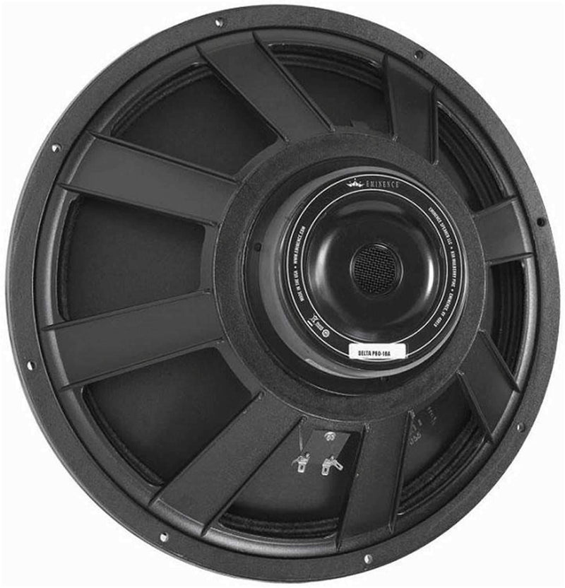Eminence KILOMAXPRO18A 18In Pro Rawframe Speaker - PSSL ProSound and Stage Lighting