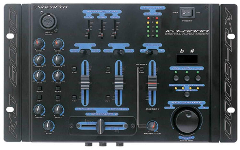 Vocopro KJ6000 Karaoke Mixer - PSSL ProSound and Stage Lighting