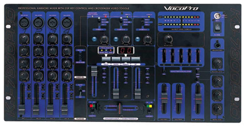 Vocopro KJ7800-PRO Kj/DJ/Vj Professionalmixer - PSSL ProSound and Stage Lighting